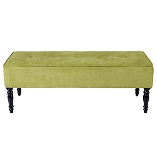 angelo:HOME Brighton Hill Parisian Green Meadow Velvet Large Bench