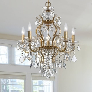 Filmore 6-light Antique Gold Chandelier