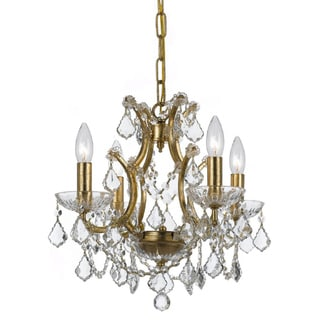 Filmore 4-light Antique Gold Chandelier