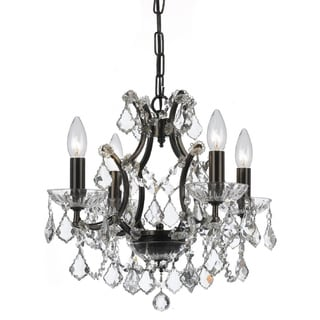 Filmore 4-light Vibrant Bronze Chandelier