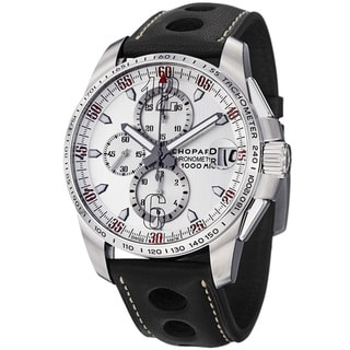 Chopard Men's 'Miglia GTris' Silver Dial Chronograph Automatic Watch