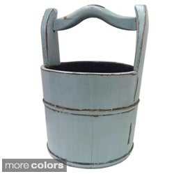 Tianjin Vintage Wooden Handled Bucket