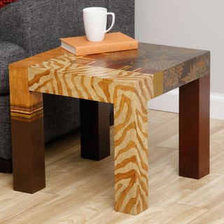 Autumn Flower End Table (Peru)