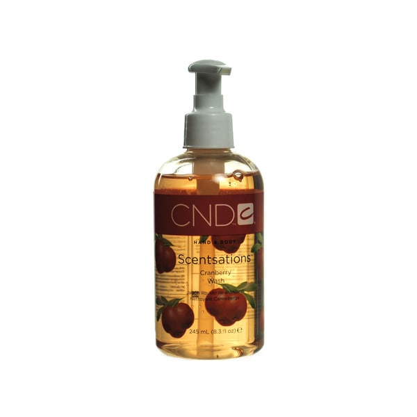 CND Scentsations CranBerry 8.3-ounce Hand & Body Wash