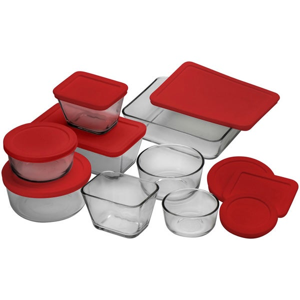 Anchor Hocking 16-piece Glass Storage Set 10866882