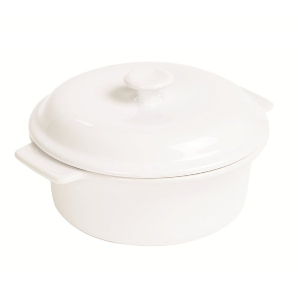 Anchor Hocking 3.5-quart Ceramic Covered Casserole Dish 10866889