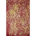 Laurent Poinsettia Rug (3'9 x 5'2)
