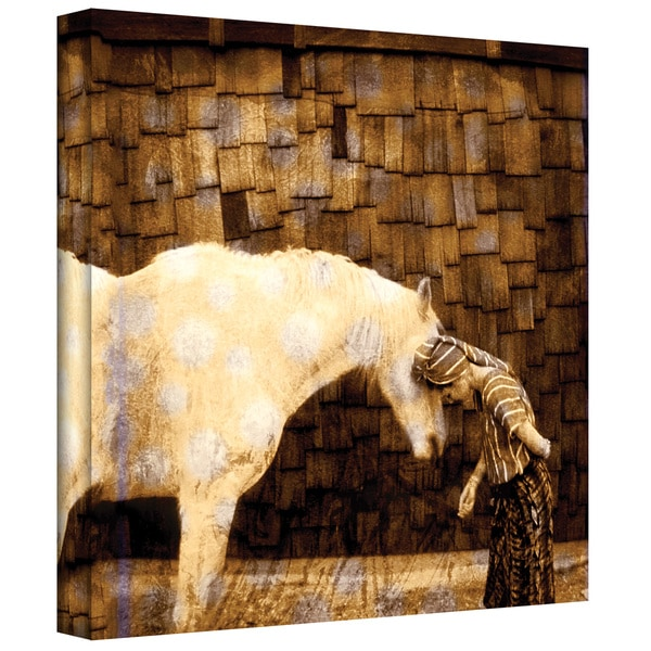 Elena Ray 'Horse Whisperer' Gallery-wrapped Canvas 10866951