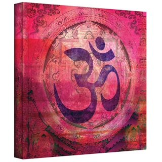 Elena Ray 'Om Mandala' Gallery-wrapped Canvas