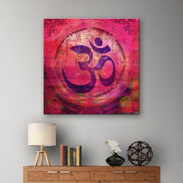 Elena Ray 'Om Mandala' Gallery-wrapped Canvas 10866968