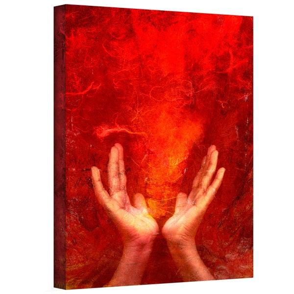 Elena Ray 'Chakra Fire' Gallery-wrapped Canvas