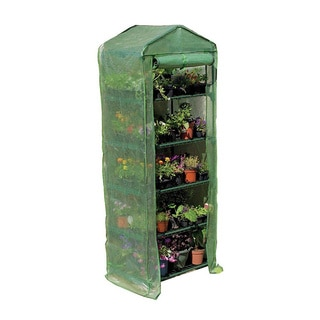 Mini Greenhouse 4-tier Growhouse with Heavy Duty Cover