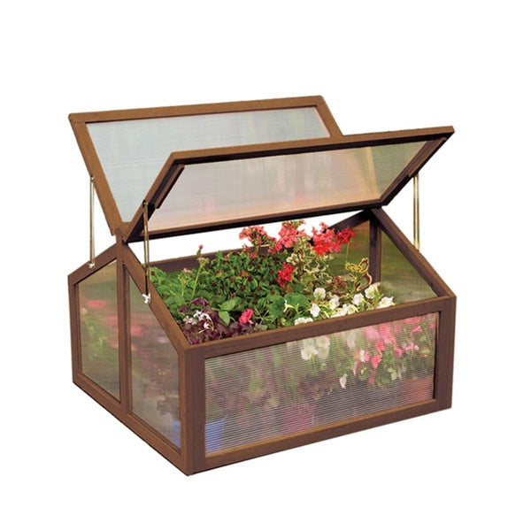 Large Wooden Cold Greenhouse Frame