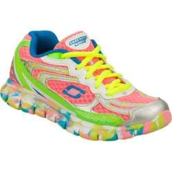 Girls' Skechers Synergy Confetti Color Pink/Multi
