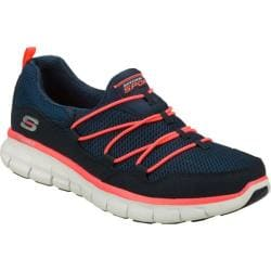 Women's Skechers Synergy Loving Life Navy/Coral
