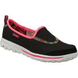 Girls' Skechers GOplay Black/Multi