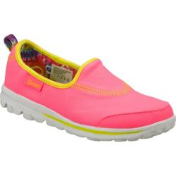 Girls' Skechers GOplay Pink/Green