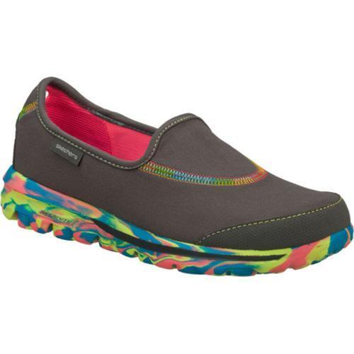 Women's Skechers GOwalk Wavelength Charcoal