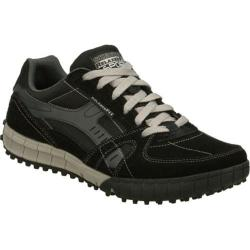 Men's Skechers Relaxed Fit Floater Black/Gray