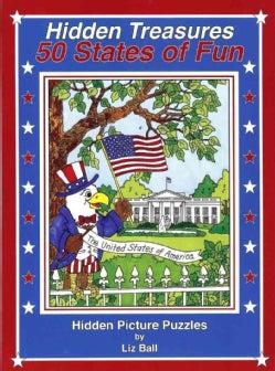 50 States of Fun - Hidden Treasures: Hidden Picture Puzzles (Paperback)