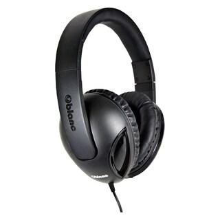 SYBA Multimedia Oblance Cobra Black Stereo Headphone w/In-line Microp
