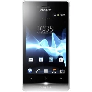 Sony XPERIA miro Smartphone - 4 GB Built-in Memory - Wireless LAN - 3