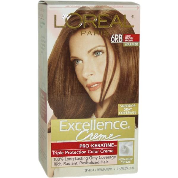 L Oreal Excellence Creme Pro Keratine 6rb Light Reddish
