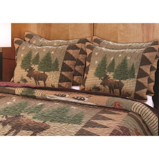 Moose Lodge Sham Pair