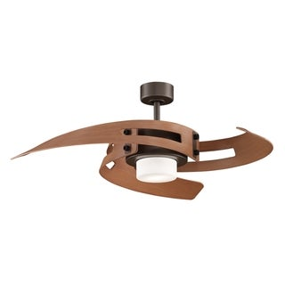 Fanimation Cherry Finish 2-light Ceiling Fan