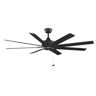 Fanimation Levon 63-inch Black Ceiling Fan