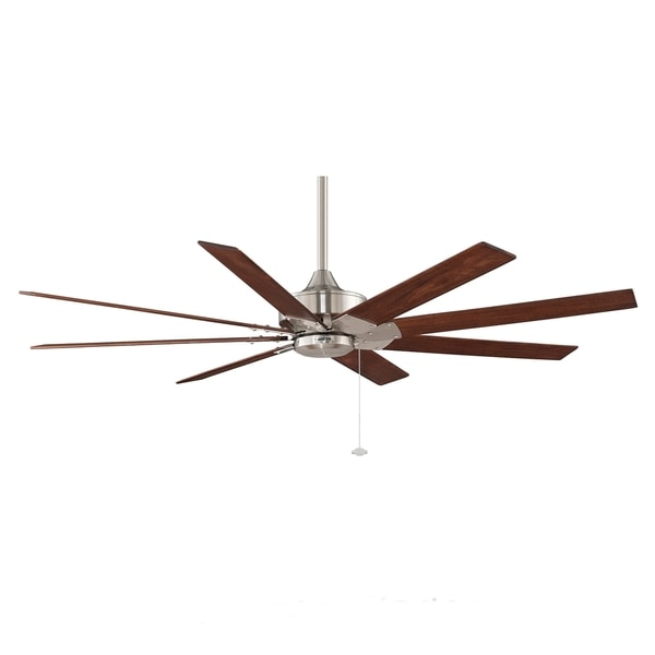Fanimation Levon 63-inch Brushed Nickel Ceiling Fan - 15260013 ...