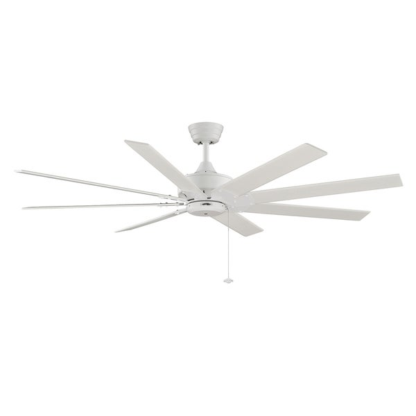 Fanimation Levon 63-inch Matte White Ceiling Fan
