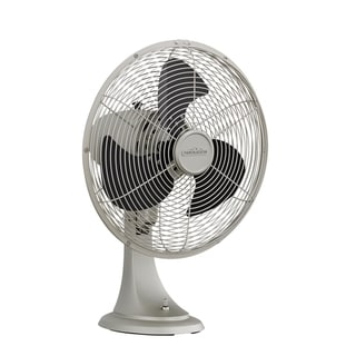 Fanimation Portbrook Satin Nickel Desk/ Wall Fan