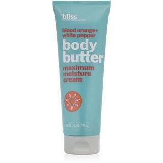 Bliss Blood Orange + White Pepper Body Butter Maximum Moisture Cream