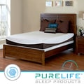 Purelife Glacier Gel Infused 10-inch King-size Memory Foam Mattress