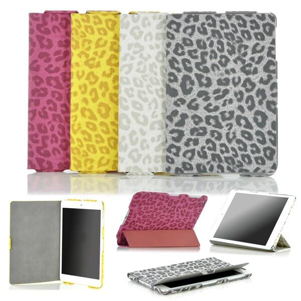MEE Premium Apple iPad mini Leopard Print Folding Smart Case