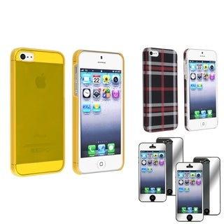 BasAcc Cases/ Mirror Screen Protector for Apple iPhone 5/ 5S