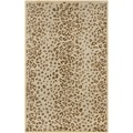 Martha Stewart Kalahari Horizon Sand Beige Wool and Viscose Rug (9' x 12')