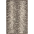 Martha Stewart Kalahari Sequoia Brown Wool/ Viscose Rug (5' x 8')
