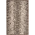 Martha Stewart Kalahari Sequoia Brown Wool/ Viscose Rug (8' x 10')