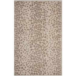 Martha Stewart Kalahari Sharkey Grey Wool/ Viscose Rug (8' x 10')
