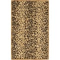 Martha Stewart Kalahari Teak Wool/ Viscose Rug (4' x 6')