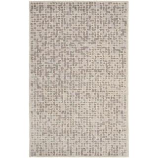 Martha Stewart Mosaic Purple Agate Wool and Viscose Rug (9' 6 x 13' 6)