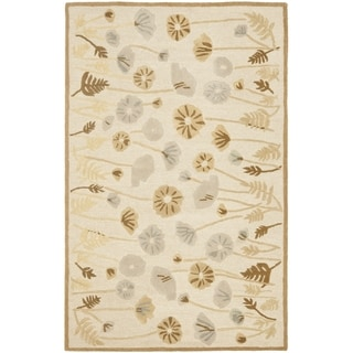 Martha Stewart Poppy Glossary Nutshell/ Brown Wool/ Viscose Rug (9' 6 x 13' 6)
