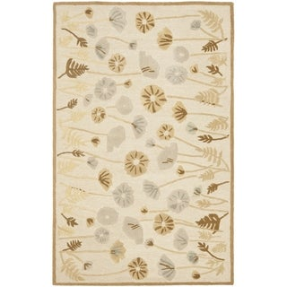 Martha Stewart Poppy Glossary Nutshell/ Brown Wool/ Viscose Rug (9' x 12')