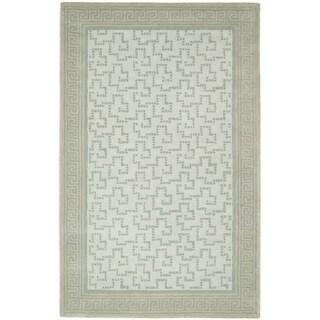 Martha Stewart Byzantium Rainwater Wool Rug (4' x 6')