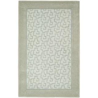 Martha Stewart Byzantium Rainwater Wool Rug (5' x 8')