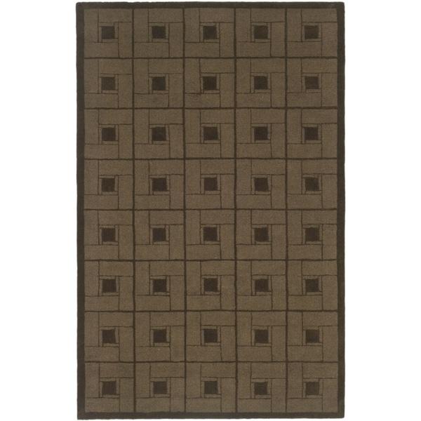Martha Stewart Square Knot Bay Colt Wool Rug (8' x 10')