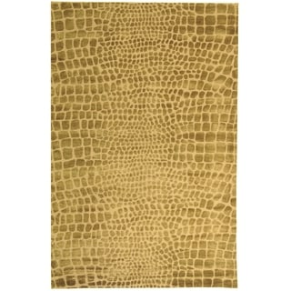 Martha Stewart Amazonia River/ Bank Silk Blend Rug (7' 9 x 9' 9)