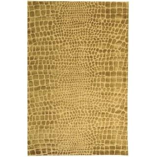 Martha Stewart Amazonia River/ Bank Silk Blend Rug (7' 9 x 9' 9)